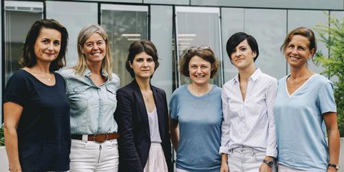 Fondatrices et équipe opérationnelle SantéBD