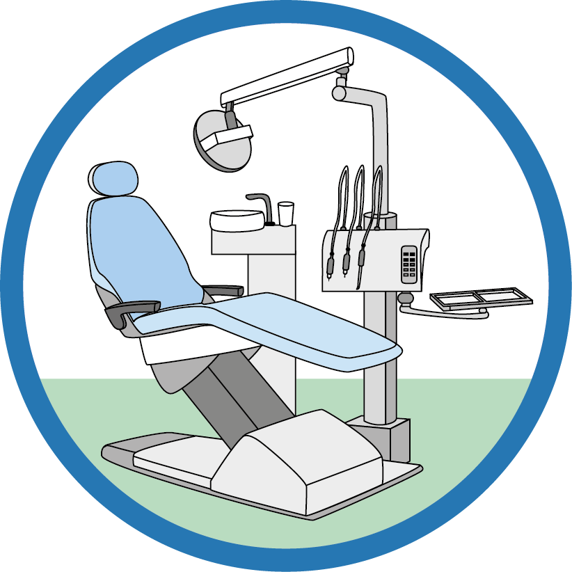 Le dentiste  - L'examen dentaire