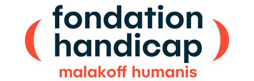 Logo de la fondation handicap malakoff humanis